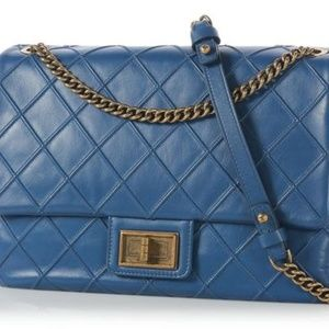 CHANEL Cosmos Mademoiselle Clasp Jumbo Single Flap